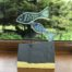 Glass Fish Sculpture