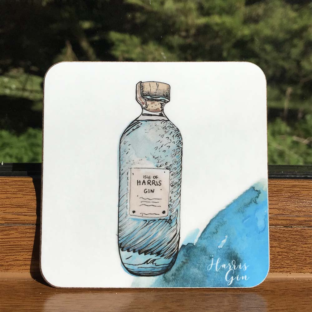Harris Gin Coaster